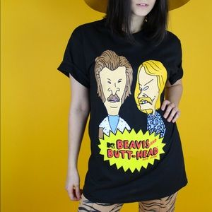 Classic Beavis and Butt head tee